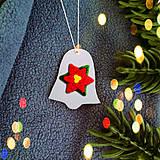 Dekorácie - Strieborné vianočné ozdoby - 7604543_