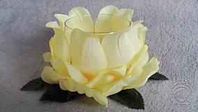 Svietidlá a sviečky - žlté lekno - 7605842_