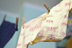 Detské oblečenie - Legínky mačičkovské - 7605932_