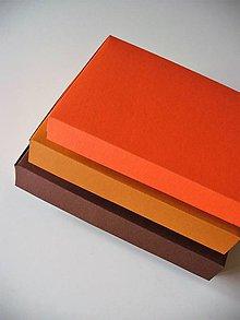 Krabičky - farby jesene - 7606530_