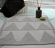 Úžitkový textil - Kúpeľňová predložka - 7606598_