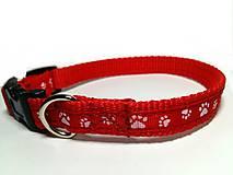 Pre zvieratká - Obojok Red Paws - 7606517_