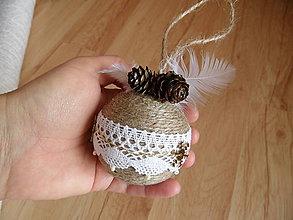 Dekorácie - vianočné gule - 7606812_