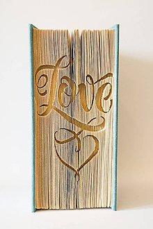 Dekorácie - Love ornament - 7607378_