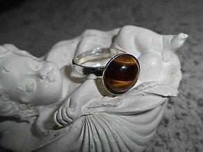 Prstene - olhos de tigre III - 7608903_