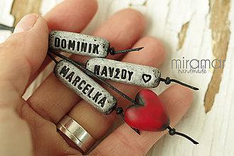 Kľúčenky - TVOJ OSOBNÝ PRÍVESOK - 7609379_