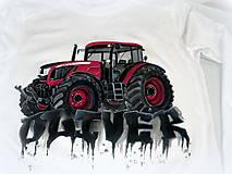 Detské oblečenie - Traktor s menom - 7609283_