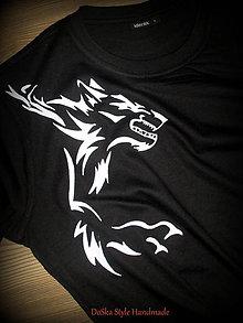 Tričká - Vlk - 7608396_