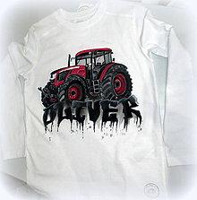 Detské oblečenie - Traktor s menom - 7609279_