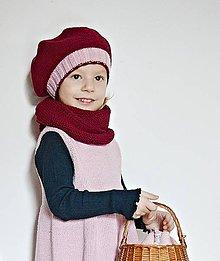 Detské doplnky - Detský pletený šál - 7608824_