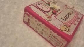"Papiernictvo - Fotokniha pre dievčatko ""Lucinka"" - 7607757_"