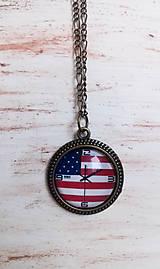 vintage náhrdelník hodiny / zľava z 9 e/