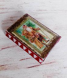 Krabičky - darčeková krabička christmas - 7607688_