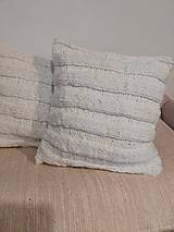 Úžitkový textil - Pletený vankúš - 7608106_