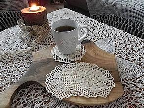 Úžitkový textil - Niekto to rád horúce - háčkované podšálky:-) - 7609840_