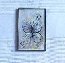 Kresby - Motýlik - 7610723_
