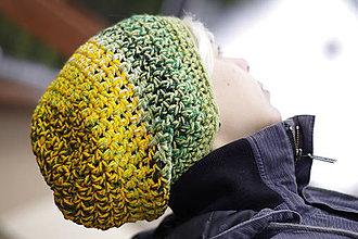 Čiapky - zelené slnko:) čiapka - 7609845_