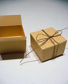 Krabičky - krabička s jutou/ 12ks - 7611764_