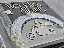 - Svadobný fotoalbum veľký luxusný - 7612053_