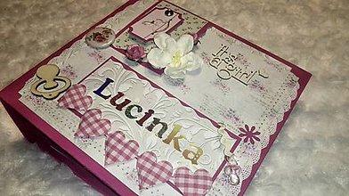 "Papiernictvo - Fotokniha pre dievčatko ""Lucinka"" - 7610549_"