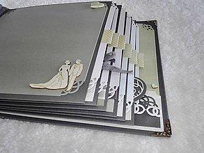 Papiernictvo - Svadobný album veľký luxusný - 7612051_