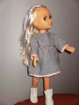 Bábiky - Šaty,sveter, čiapka pre Adelku - 7612076_