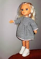 Bábiky - Šaty,sveter, čiapka pre Adelku - 7612079_