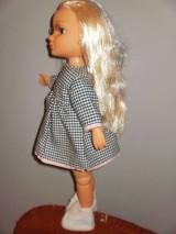Bábiky - Šaty,sveter, čiapka pre Adelku - 7612080_