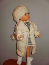 Bábiky - Šaty,sveter, čiapka pre Adelku - 7612081_