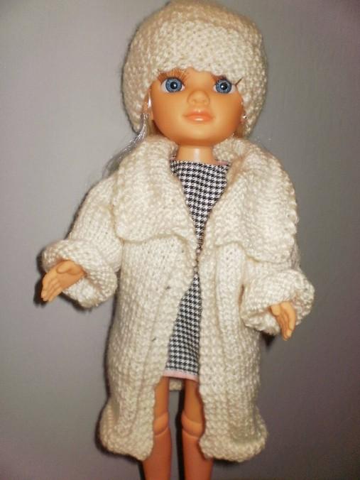 Šaty,sveter, čiapka pre Adelku