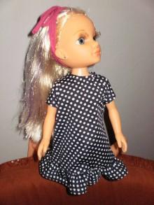 Bábiky - Bodkavé šaty pre Adelku - 7612008_