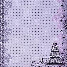 Papier - Dizajnový papier - Torta - 7612967_
