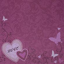 Papier - Dizajnový papier - Priateľstvo - 7612988_
