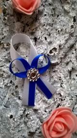 Svadobné pierko royal blue :)