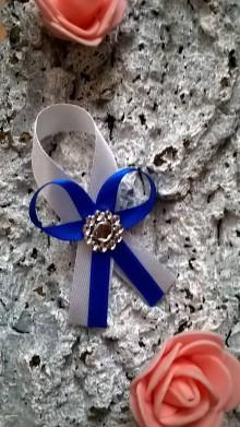 Pierka - Svadobné pierko royal blue :) - 7613799_