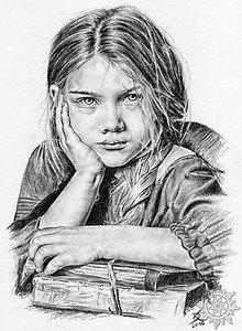 Kresby - Portréty podľa fotografie - 7614095_