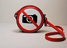 - Kabelka okrúhla Zákaz fotografovania! - 7613152_