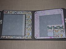 "Papiernictvo - Svadobný fotoalbum veľký ""Butterflies"" - 7612924_"