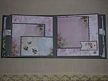 "Papiernictvo - Svadobný fotoalbum veľký ""Butterflies"" - 7612929_"