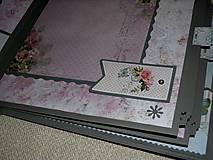 "Papiernictvo - Svadobný fotoalbum veľký ""Butterflies"" - 7612930_"