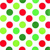 "Papier - Servítka ""Maxi dots red/green"" - 7612781_"