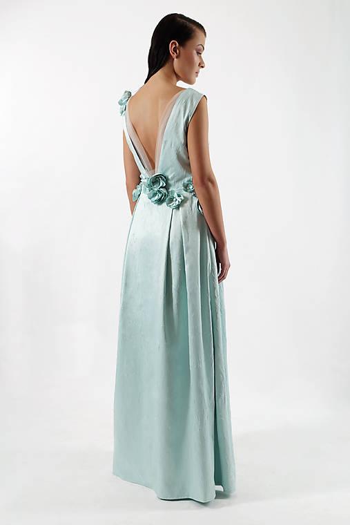 Šaty zamrznutá lúka   ceccilia - SAShE.sk - Handmade Šaty 213c48b2e0f