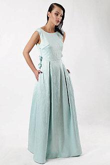 Šaty - Šaty zamrznutá lúka - 7614895_