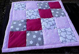 Úžitkový textil - DĚTSKÁ DEKA ...růžová - 7615799_