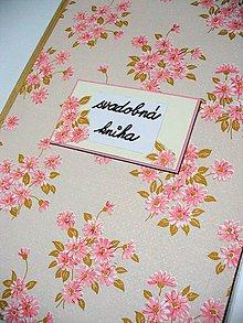 Papiernictvo - svadobná kniha - 7616602_