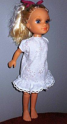 Bábiky - Bábika Adelka a jej nové šaty - 7616084_