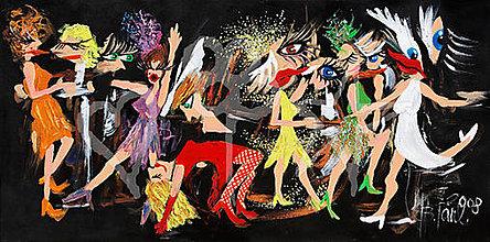 """Obrazy - Let´s dance """"M"""" - 7618022_"""