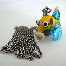 Náhrdelníky - Korálová rybička - 7617668_