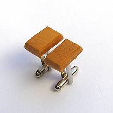 Šperky - Bukové obdĺžničky - 7617612_