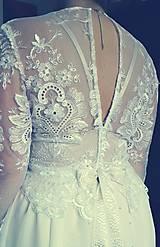 Šaty - Svadobné šaty na mieru_Terezka - 7619425_